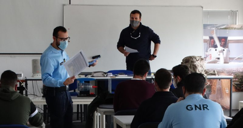 OIL SPILL DETECTION DEMONSTRATION IN PORTUGAL (16-19 NOVEMBER 2020)
