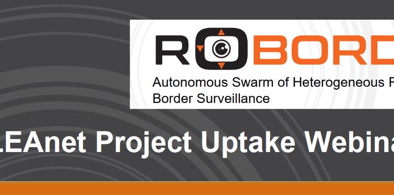 SAVE THE DATE! ROBORDER's UPTAKE WEBINAR ON 30/03/2021